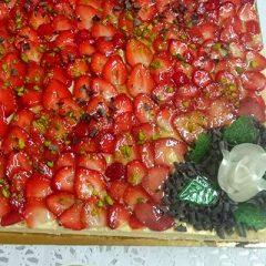 MD Traiteur Caen - Tarte aux fraises